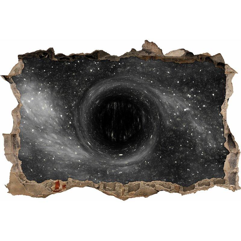 home loft concept black hole in space wall sticker | wayfair.co.uk