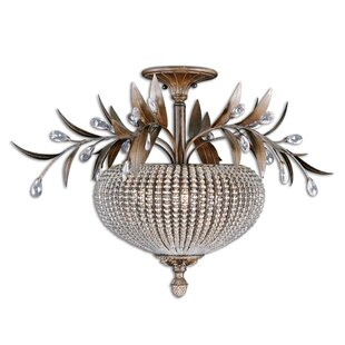 Astoria Grand Missenden 3-Light Semi Flush Mount
