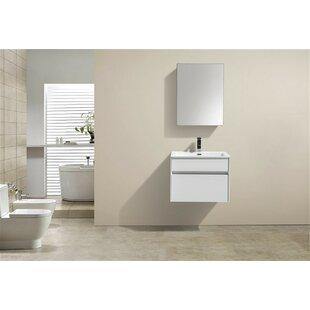 Bargain Brockman 24 Single Bathroom Vanity Set ByWade Logan