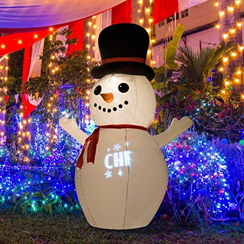 snowman christmas led lighted outdoor airblown inflatable - Outdoor Snowman Christmas Decorations
