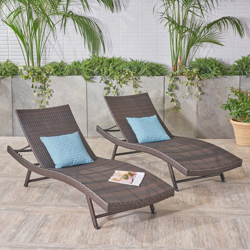 Varley Reclining Chaise Lounge