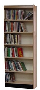 Open Back Single Face Standard Bookcase