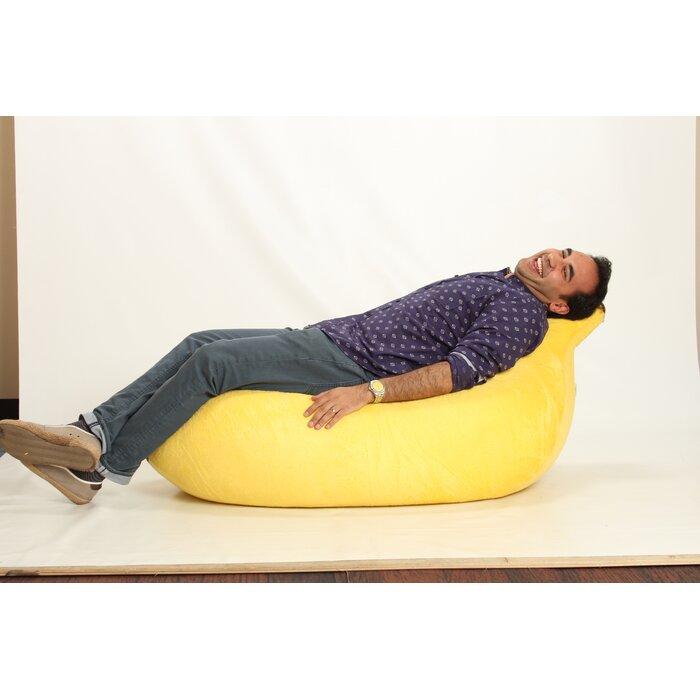 Excellent Banana Bean Bag Lounger Machost Co Dining Chair Design Ideas Machostcouk