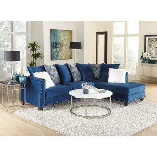 Blue Denim Sectional Sofa Wayfair