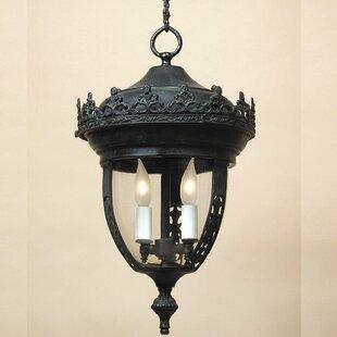 JVI Designs Small 2-Light Outdoor Hanging Lantern