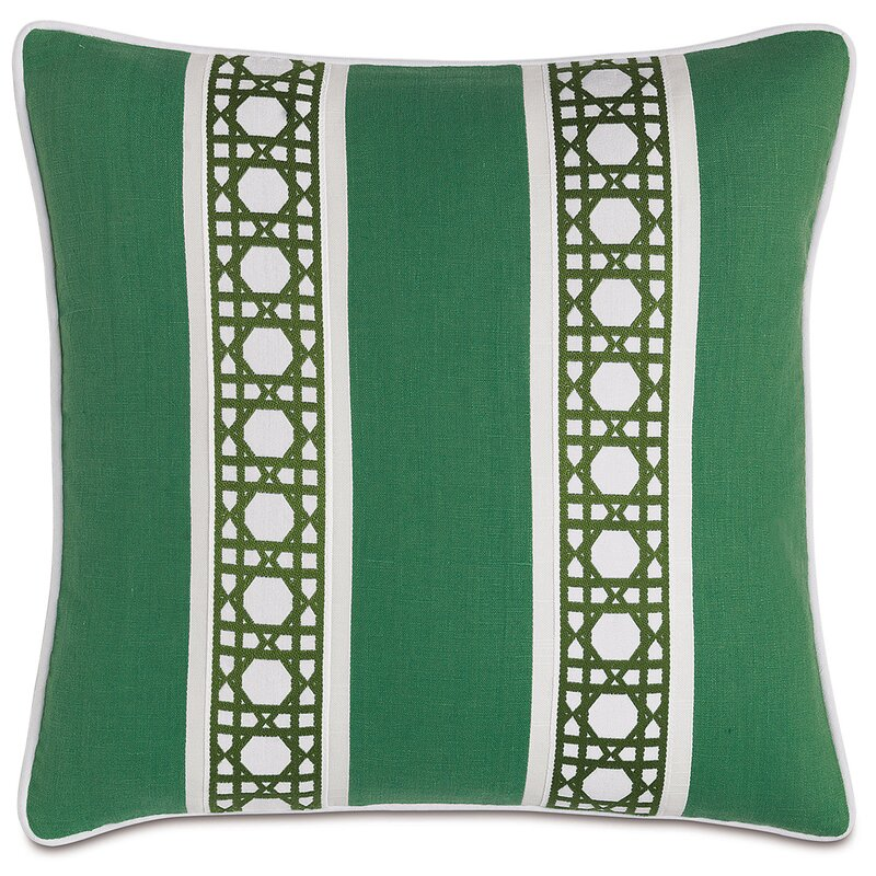 Eastern Accents Lanai Carousel Kelly Border Throw Pillow Wayfair