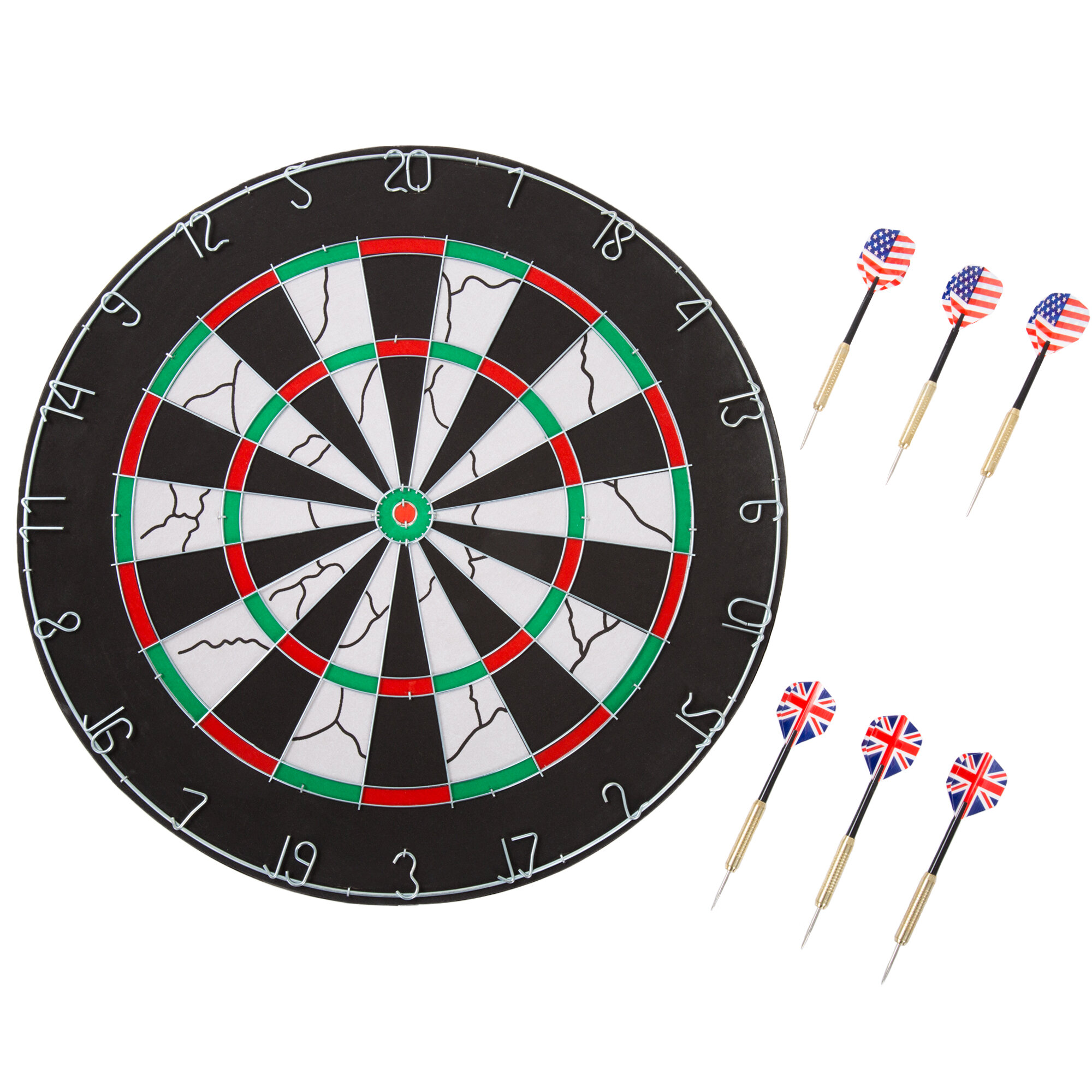 Hey Play Double Sided Flocking Dartboard Reviews Wayfair