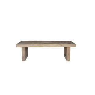 Liesel Wood Bench by Millwood Pines