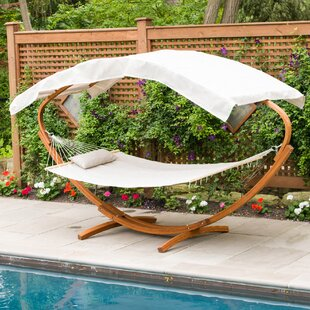 PVC-coated polyester Hammock with Stand