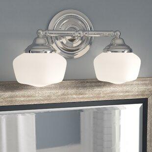 Shopping for Sainz 2-Light Vanity Light ByLaurel Foundry Modern Farmhouse