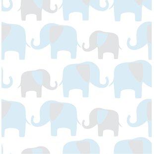 Elephant Parade L And Stick Wallpaper