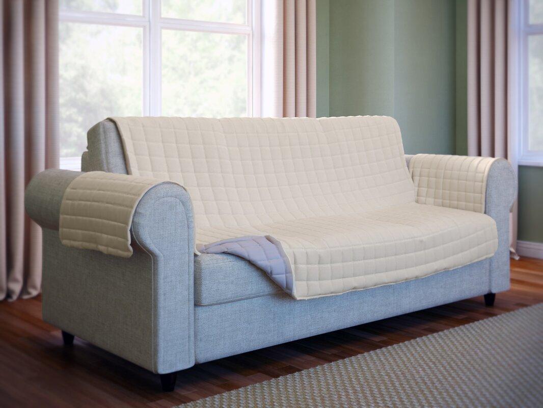 wayfair basics wayfair basics box cushion sofa slipcover. Black Bedroom Furniture Sets. Home Design Ideas