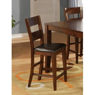 Solid Wood Dining Chair (Set of 2) Wildon Home®