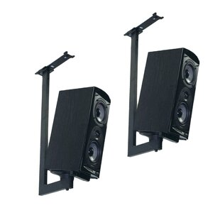 Side Clamping Bookshelf Speaker Ceiling Mount (Set of 2) Pinpoint Mounts
