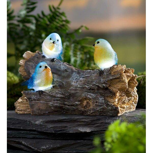 Blue Bird Statue Wayfair
