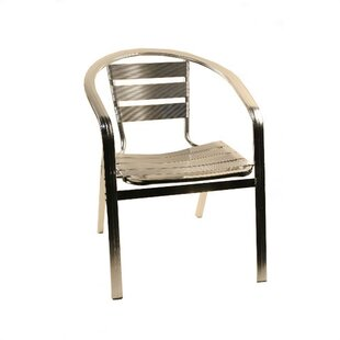 Aluminum Arm Chair by Alston