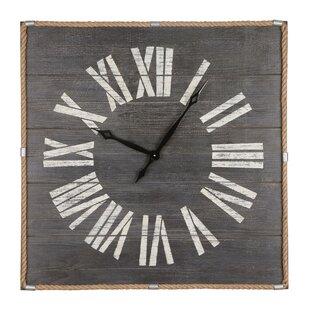 Large Wooden Clocks Wayfaircouk