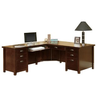 Review Tribeca Loft L-Shape Executive Desk by Martin Home Furnishings