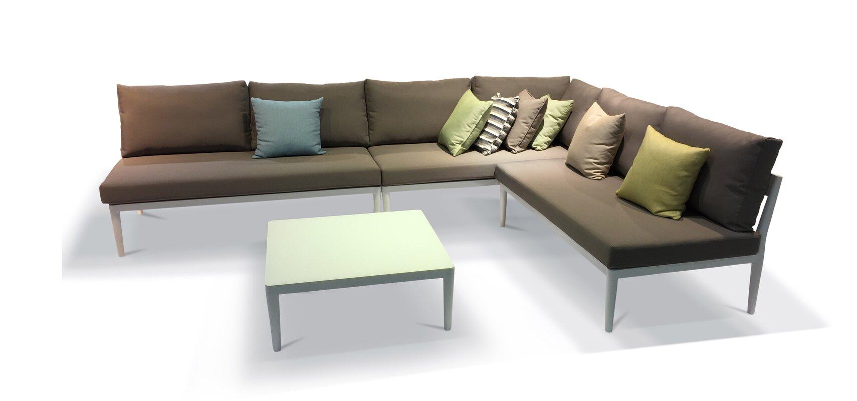 Living Room Group Sets Urban Furnishings Palazzo 4 Piece Deep Seating Set U0026 Reviews
