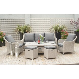Highsmith 7 Seater Rattan Effect Sofa Set By Sol 72 Outdoor