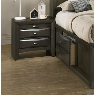 Carle 3 Drawer Nightstand by Red Barrel Studio New Design