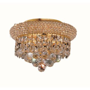 Destanee 3-Light Semi Flush Mount by Willa Arlo Interiors