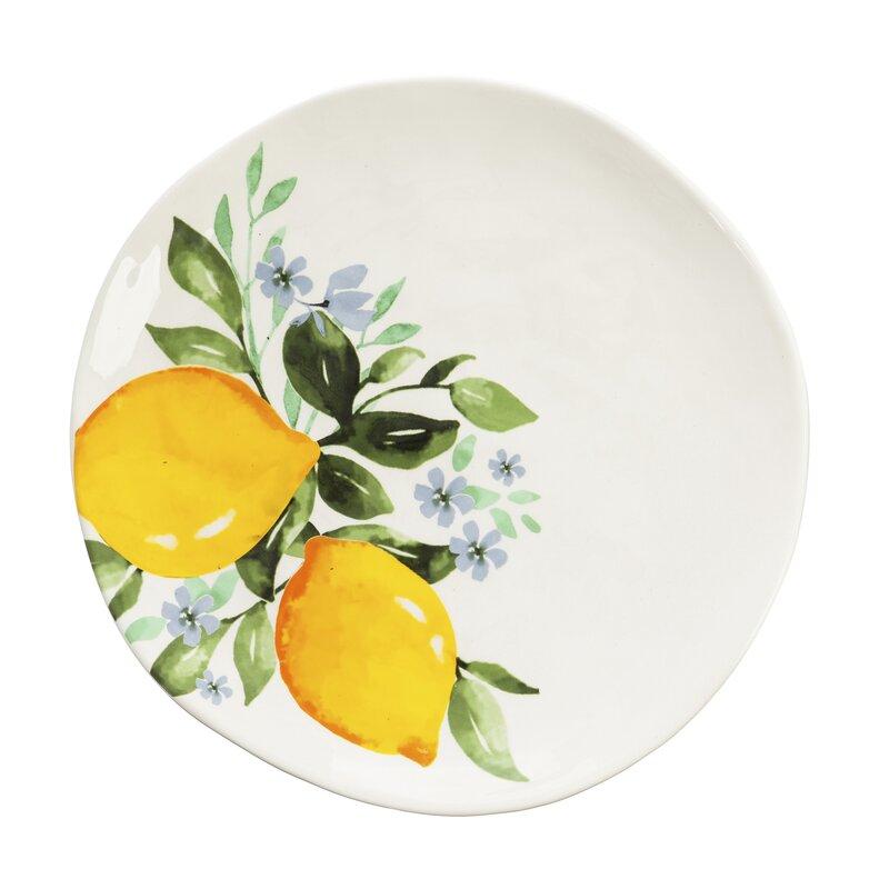 "Lemon Drop 10"" Dinner Plate"