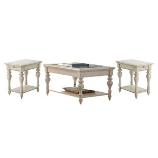 Perkins 3 Piece Coffee Table Set by Birch Lane™ Heritage Fresh