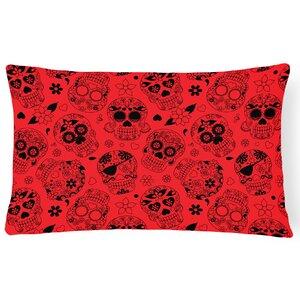 Day of the Dead Lumbar Pillow