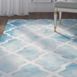 Hand-Tufted Ivory Area Rug by House of Hampton