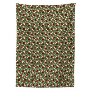 Orrin Balls Holly Old Tablecloth By The Seasonal Aisle