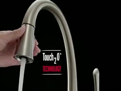 Pilar Touch Hot & Cold Water Dispenser with and MagnaTite® Docking,Touch2O® Technology, and Diamond Seal Technology