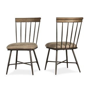 August Grove Bonella Upholstered Dining Chair (Set of 2)