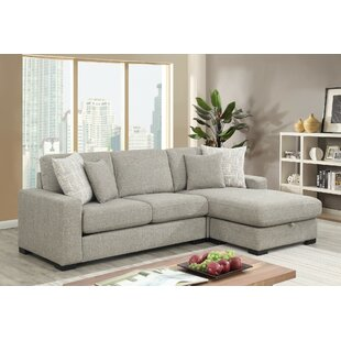 Gaylon Reversible Sectional by Ivy Bronx
