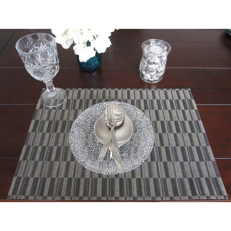 Linen Avenue Artisan Crafted Woven Placemats Reviews Wayfair