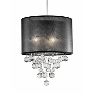 Radionic Hi Tech Ophelia 3-Light Crystal Pendant