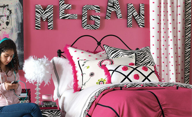 Hot Pink Teen Bedroom Decor Wayfair