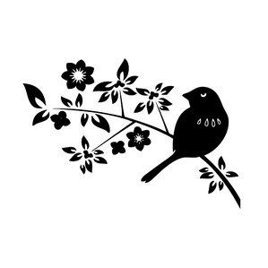 Springtime Birds Vinyl Wall Decal