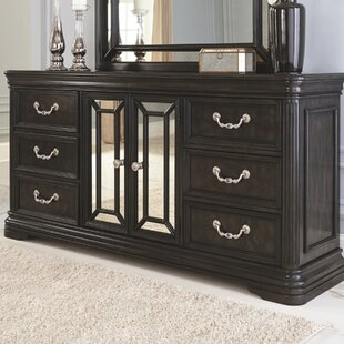 Canora Grey Quincy 6 Drawer Combo Dresser Image
