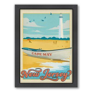 Cape May Framed Vintage Advertisement
