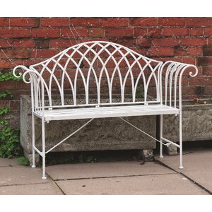 Vintage 2 Seater Steel Garden Bench