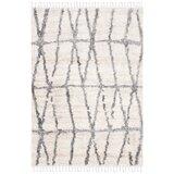 Triplett Fringe Shag Cream/Grey Area Rug byUnion Rustic