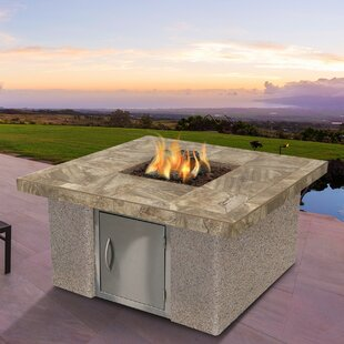 Cal Flame Stucco and Tile Dining Steel Pr..
