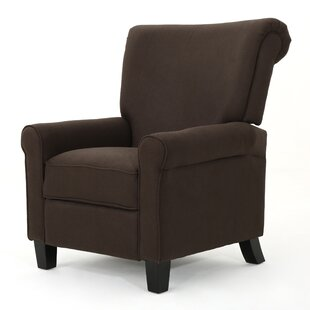 Amaryllis Fabric Push Back Manual Recliner
