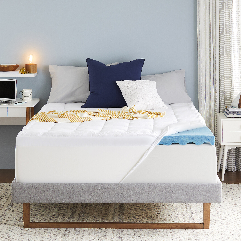 Sleep Innovations 4-inch Dual Layer Gel Memory Foam Mattress