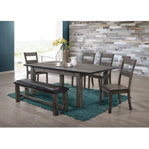 Calliope  6 Piece Dining Set by Loon Peak
