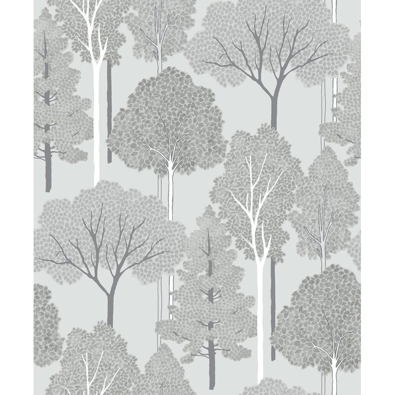 "Arthouse Ellwood 33.5' x 22"" Floral and Botanical Wallpaper"