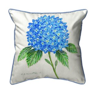 Ansley Hydrangea Indoor/Outdoor Euro Pillow