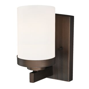 Gallman 1-Light Bath Sconce by Wrought Studio