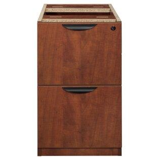Latitude Run Linh File Pedestal 2-Drawer Vertical Filing Cabinet